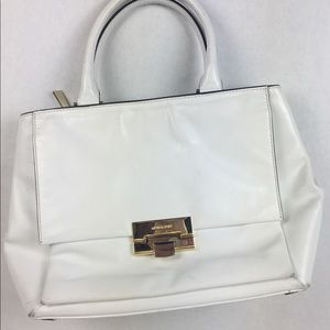 Michael Kors White multi-pocket Handbag